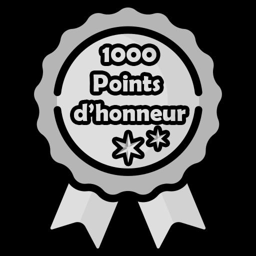 1 000 Points d'honneur